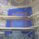 Restauration peinture église